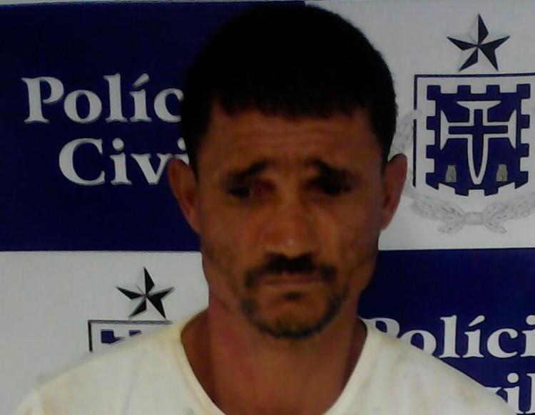 Cosme foi preso nesta quinta em Caldas do Jorro - Foto: Divulgação   Polícia Civil