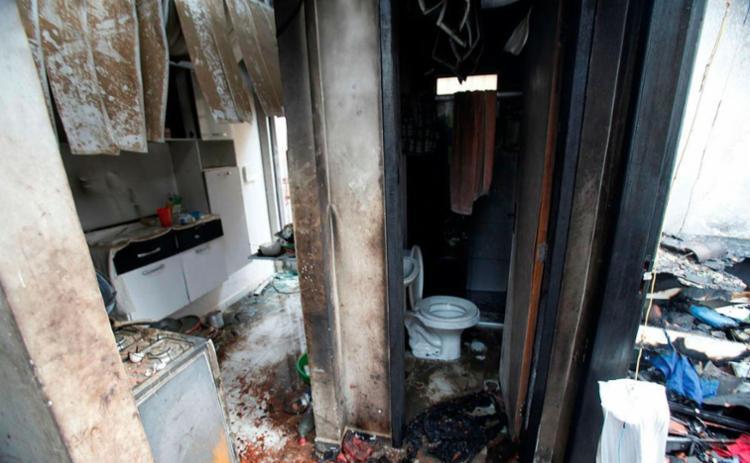 Pai colocou fogo em imóvel com família dentro - Foto: Lúcio Távora | Ag. A TARDE