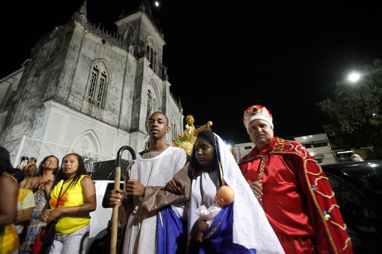 Desfile animou o bairro da Lapinha nesta quinta-feira, 5 - Foto: Lúcio Távora l Ag. A TARDE l 05.12.2017