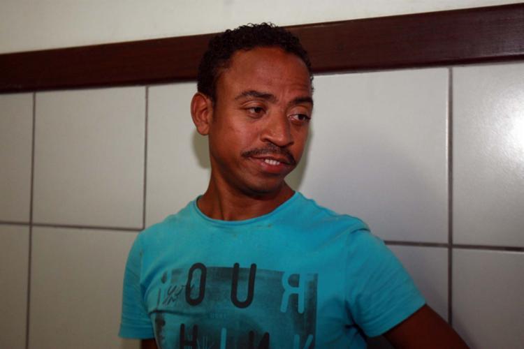 Marcos Santos de Oliveira, 33 anos, foi preso - Foto: Edilson Lima   Ag. A TARDE