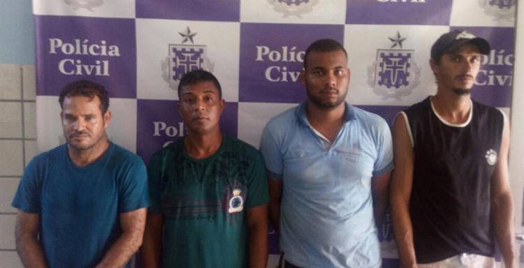 Homens são apontados como responsáveis pela confusão na porta da unidade prisional - Foto: Divulgação l Site Bahia Extremo Sul