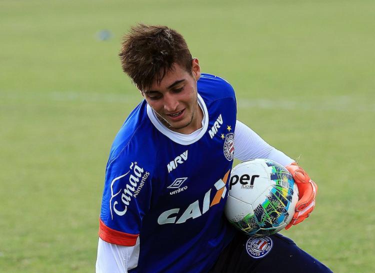 Em jogos oficiais, Jean ainda não tomou gols em 2017 - Foto: Felipe Oliveira l EC Bahia