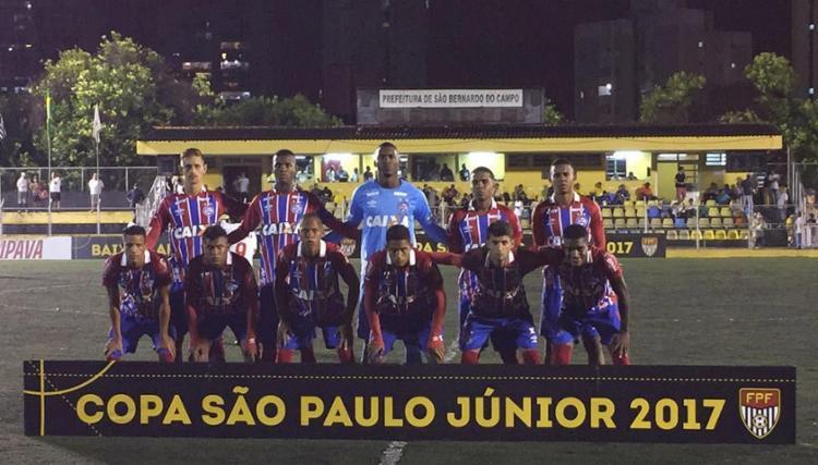 Esquadrãozinho manteve 100% de aproveitamento na competição - Foto: Reprodução l Twitter l EC Bahia