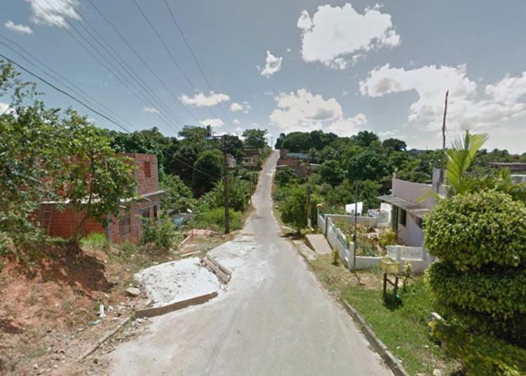 Uma dos crimes aconteceu na estrada de Candeias, em Simões Filho - Foto: Reprodução | Google Maps
