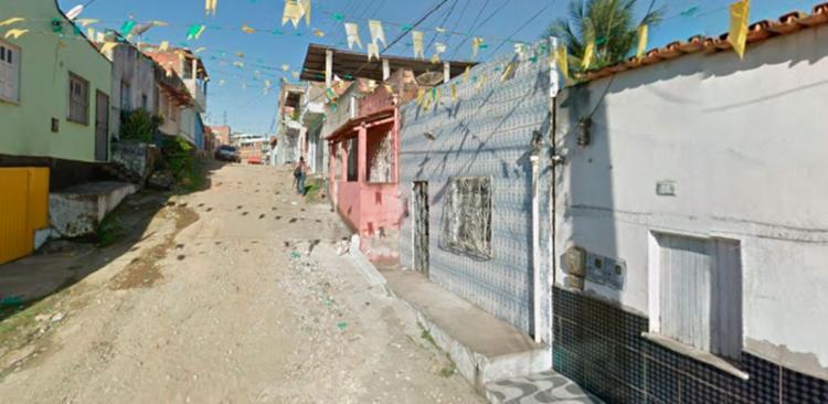 O crime aconteceu na rua Nossa Senhora da Conceição, em Itabuna - Foto: Reprodução   Google Maps
