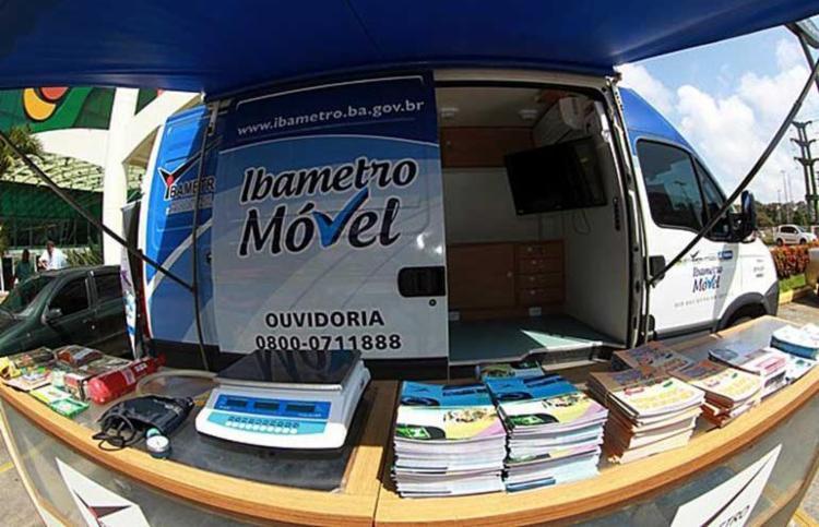 Unidade móvel estará no Salvador Shopping a partir desta segunda-feira, 9 - Foto: Ascom | Ibametro