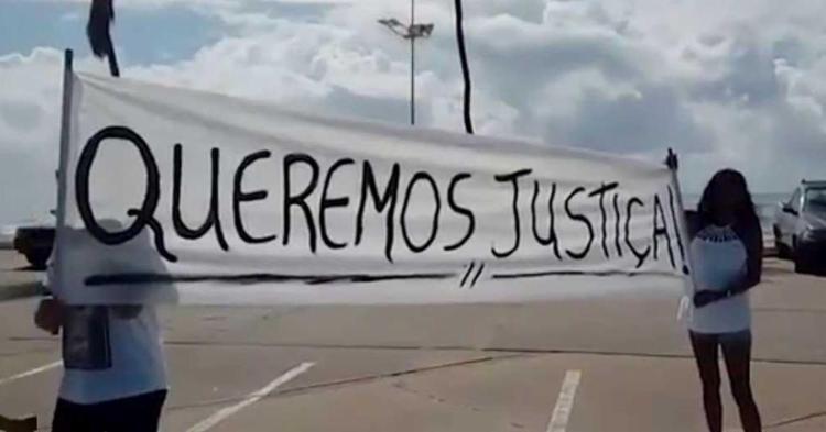 Protesto aconteceu na manhã deste sábado - Foto: Reprodução | Rede Bahia