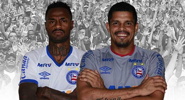 Dupla chegou ao clube durante Série B - Foto: Divulgação | E.C. Bahia