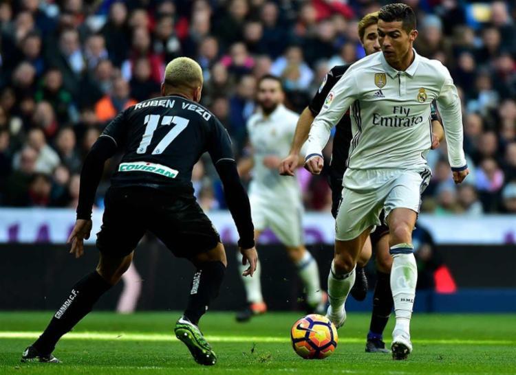 Cristiano Ronaldo também deixou o dele na goleada - Foto: Gerard Julien | AFP