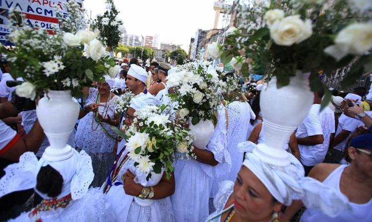 Cortejo do Bonfim acontece nesta quinta-feira, 12 - Foto: Joá Souza | Ag. A TARDE