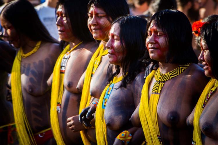Encontro vai reunir índios de sete etnias como os Kayapó Mebêngôkre, do Pará - Foto: Mariana Florencio | Divulgação