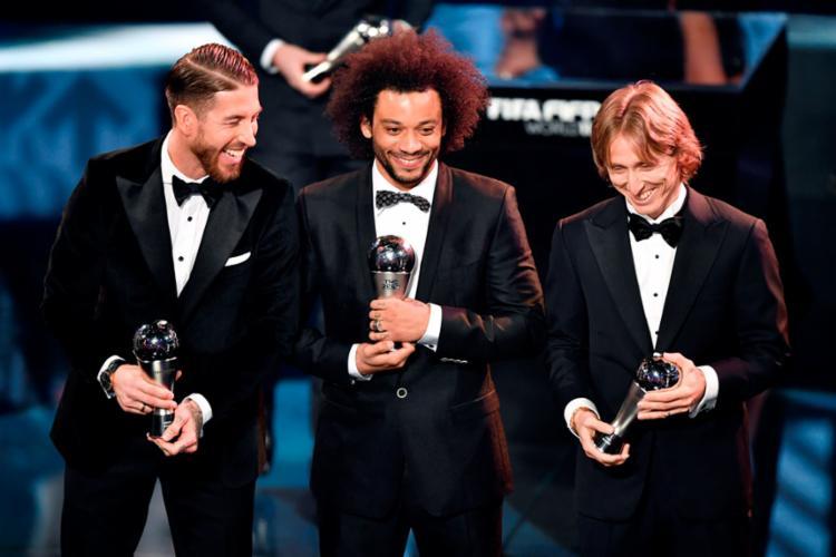 Marcelo foi eleito melhor lateral-esquerdo do mundo em 2016 - Foto: Fabrice Coffrini | AFP