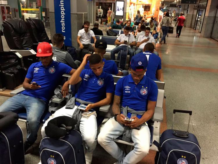 O Tricolor vai estrear na Florida Cup na quinta-feira, 12 - Foto: Reprodução   Twitter   EC Bahia