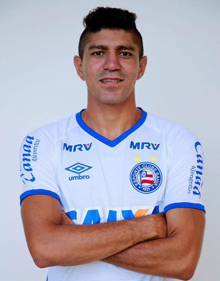 O jogador atuou no Fluminense na última temporada - Foto: Reprodução | Facebook | EC Bahia