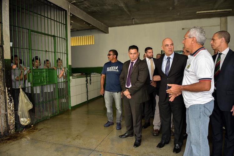 DPU pede que seja garantido o direito de progressão de pena caso não haja vagas em estabelecimentos apropriados em Manaus - Foto: AFP l Governo do Estado do Amazonas