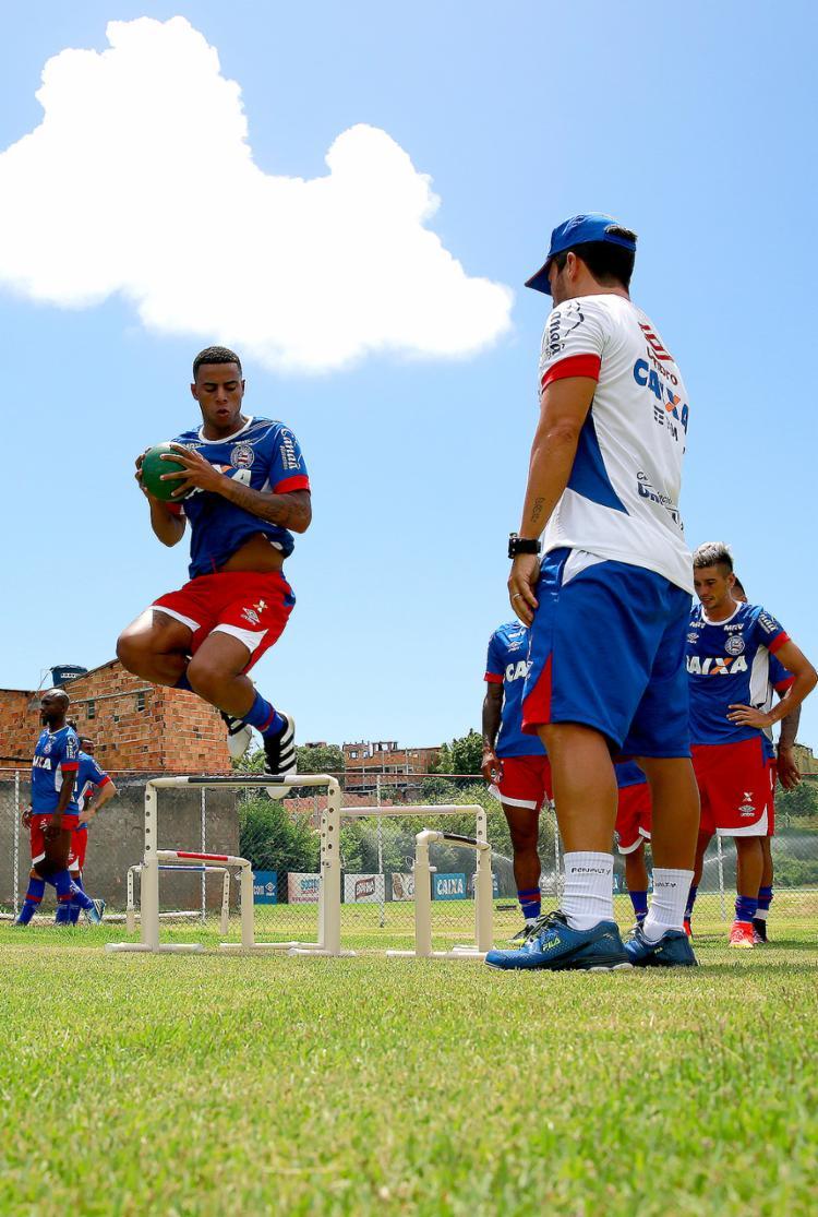 Vindo do Corinthians, 'Gustagol' ficará por empréstimo no Bahia até o final do ano - Foto: Felipe Oliveira l EC Bahia