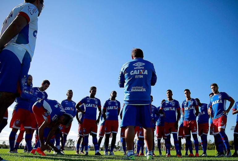 Bahia divide time para disputas no primeiro semestre
