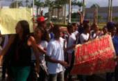 Estudantes protestam e pedem que escola não seja fechada em Piatã | Foto: