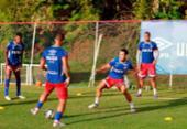 Bahia faz último treino antes de pegar o Flu de Feira | Foto: