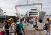 Tempo de espera para embarcar no ferry é de 1h30 | Foto: