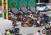 Ambulantes protestam no Campo Grande | Foto: