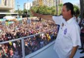 Chineses interessados em investir na Bahia curtem Carnaval ao lado de Rui | Foto: