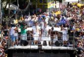 Saulo e Timbalada são destaques do Campo Grande no quinto dia da folia | Foto: