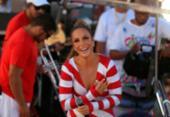 Bateria da Grande Rio faz homenagem a Ivete no circuito Dodô | Foto: