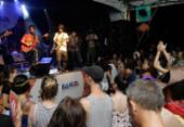 Instrumental da banda Ifá fecha festa no Pelô   Foto: