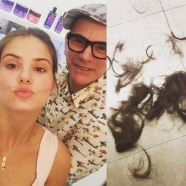 A novidade foi compartilhada pelo cabeleireiro da atriz, Neandro Ferreira, no Instagram - Foto: Reprodução | Instagram