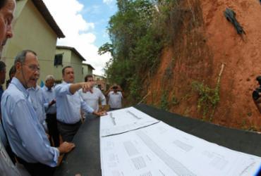 Contenção de encostas em Pirajá é autorizada