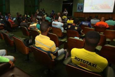 Detran-Ba capacita 1,2 mil mototaxistas para o Carnaval