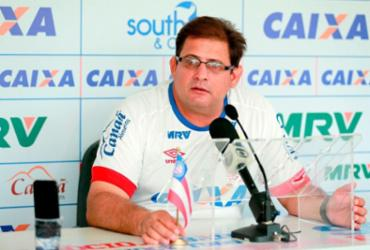 """Guto Ferreira: """"A equipe base é a que joga a Copa do Nordeste"""""""