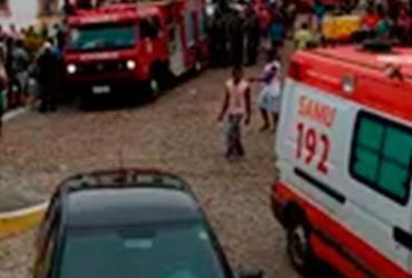 Vítima de desabamento de píer em Jaguaripe é transferida para Itaparica