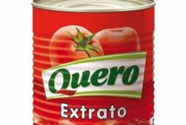 Anvisa proíbe venda de lote de extrato de tomate Quero com pelo de roedor