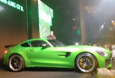 AMG GT R custa R$ 1,2 milhão
