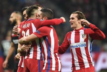 Atlético faz 4 a 2 no Leverkusen na Alemanha e fica perto das quartas