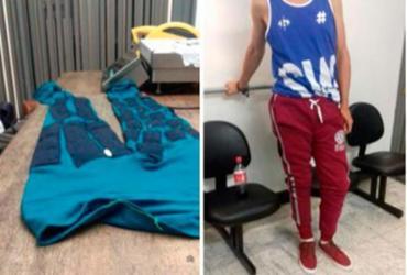 Homem é preso no Aeroporto de Guarulhos com cocaína escondida em calça legging