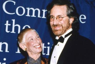 Leah Adler, mãe de Steven Spielberg, morre aos 97 anos nos EUA