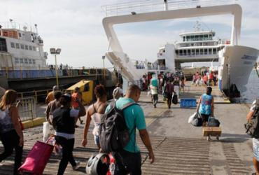 Tempo de espera para carros no ferry é de 1h30