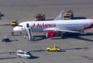 Avião da Avianca faz pouso de emergência no aeroporto de Cumbica
