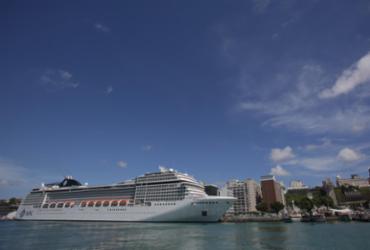Dois mil turistas desembarcam no Porto de Salvador nesta sexta