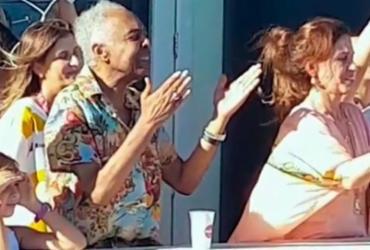 Ivete Sangalo e Cláudia Leite homenageiam Gilberto Gil na Barra