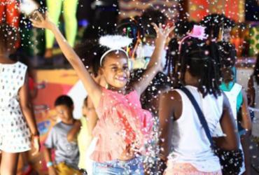 Criançada curte o Carnaval no Pelô