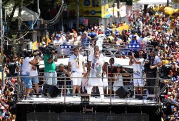 Saulo e Timbalada são destaques do Campo Grande no quinto dia da folia