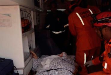 Mulher sofre lesão na perna no circuito Dodô |