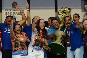 Acadêmicos do Tatuapé é a grande campeã do carnaval de São Paulo