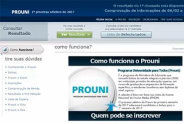 Após erro, MEC diz que resultado do ProUni ainda não saiu