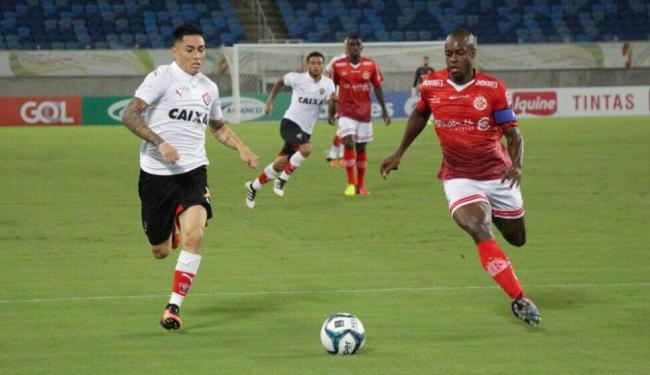 Leão dominou o segundo tempo, mas não conseguiu abrir o placar - Foto: Moysés Suzart / EC Vitória / Divulgação