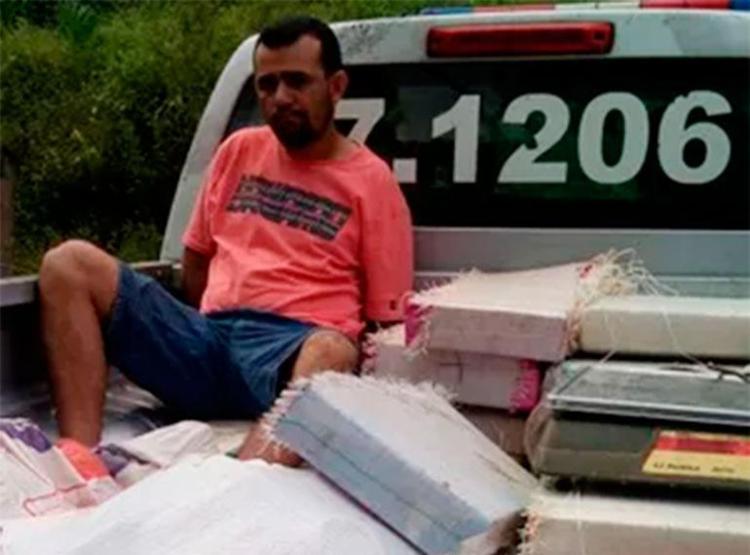 Vereador foi preso em fazenda com drogas - Foto: Divulgação | PM